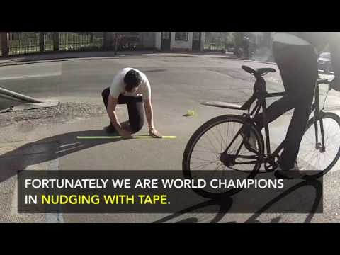 Nudge: Increasing Traffic Safety with Duct Tape