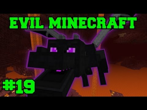 EVIL MINECRAFT! : STRONGHOLD! - Episode 19 Let's Play (HARD MINECRAFT MODS)