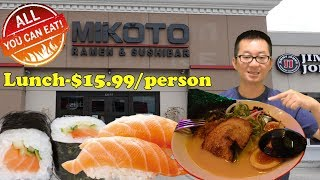 All You Can Eat Ramen & Sushi @ Mikoto Ramen & Sushi Bar | Katy, Texas