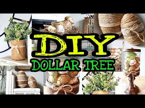 Dollar Tree DIY Spring Farmhouse Decor