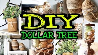Dollar Tree DIY Spring Farmhouse Decor