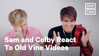 YouTube Stars Sam & Colby 'Scroll Back' on Old Vine Content | NowThis