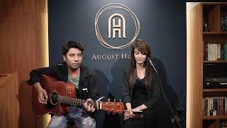 Open Mic - Mera Mann Kehne Laga by Usmaan & Riya Marwal @ August House