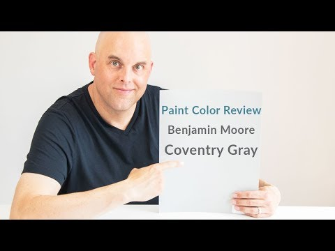 Benjamin Moore Coventry Gray Color Review