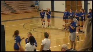 Highlights: Volleyball vs Blue Valley North   August 28, 2018