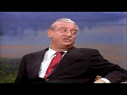 Wow Amazing Comedian Best Senior : Rodney Dangerfield Performs Interview On The Johnny Carson Show