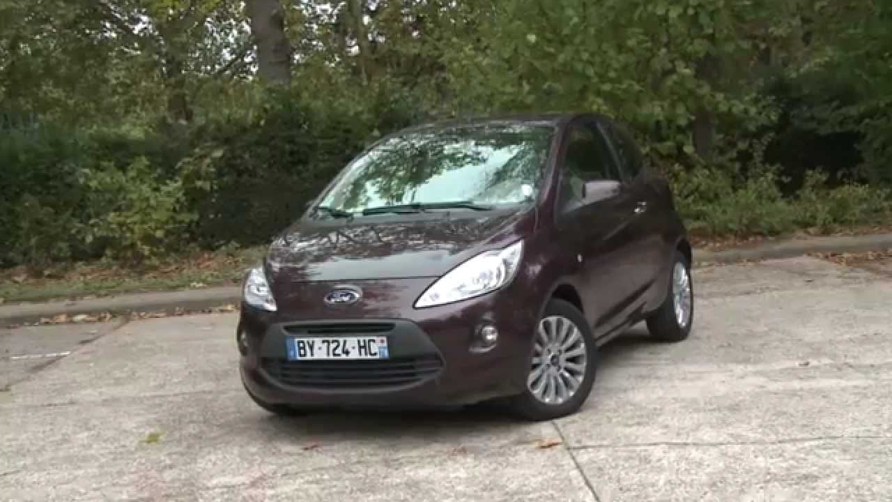 essai ford ka 1 2l 69ch titanium plus youtube. Black Bedroom Furniture Sets. Home Design Ideas