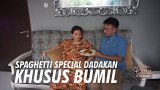 The Onsu Family - Spaghetti Special Dadakan Khusus Bumil