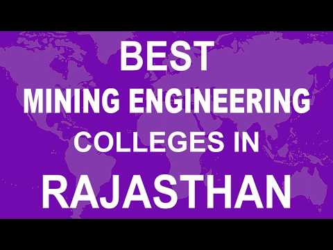 Best Mining Engineering Colleges In Rajasthan