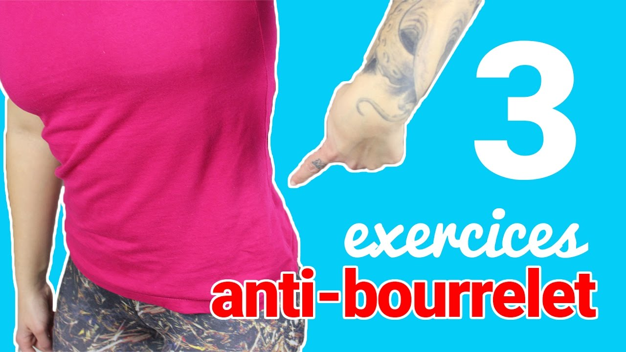 3 exercices anti-bourrelet - YouTube 681068794f8
