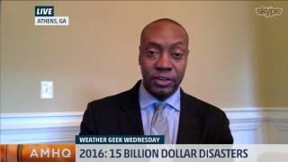 2016 Saw 15 Billion-Dollar Disasters