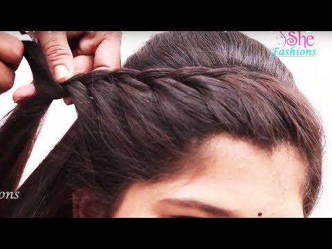 Easy Beautiful Hairstyle for Long Hair Tutorial 2018