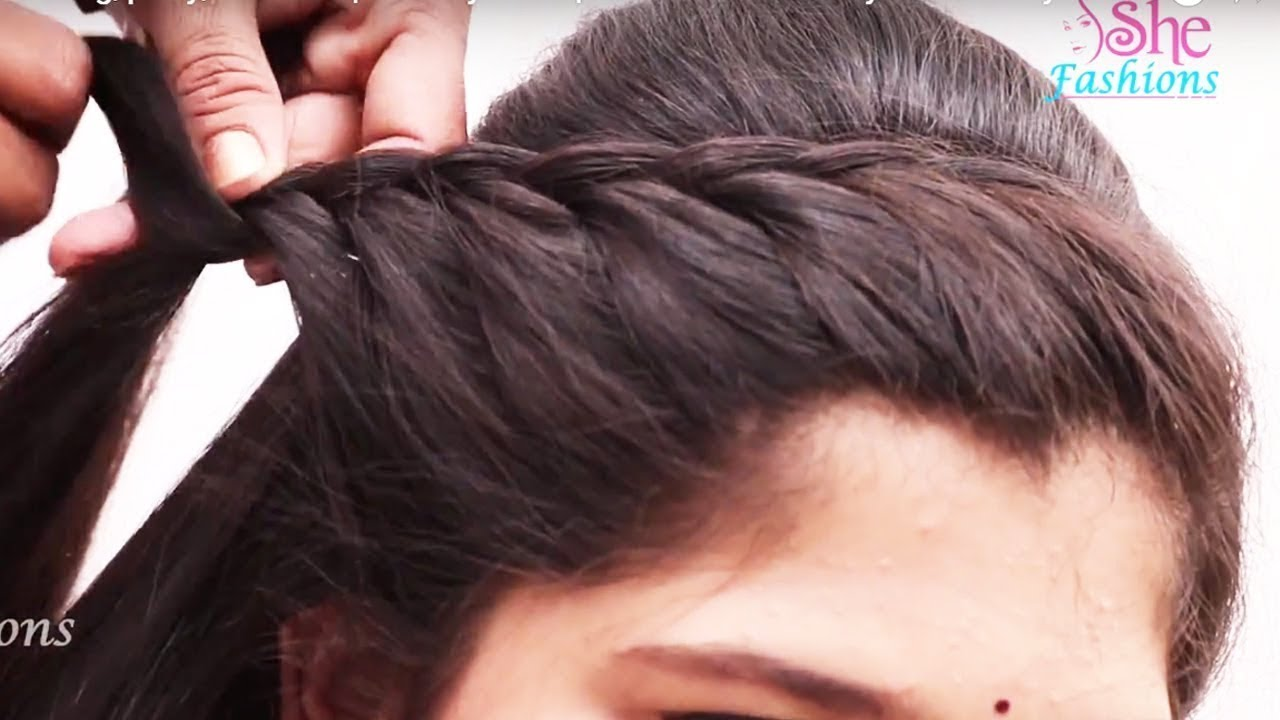 Easy beautiful hairstyle for Long Hair ★ Hairstyle video tutorial ★  Everyday hairstyles - PART10