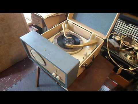 Argosy Record Player - UY85 Rectifier & UCL82 Triode Pentode -  ebay sale