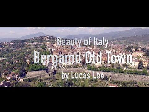 Beauty of Italy - Bergamo Aerial Movie by Drone HD