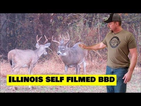 Deer Hunting 2019 Self Filmed Illinois Buck Down