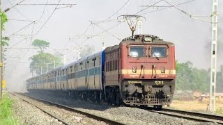 MGS P4 22908 speeds at full MPS with 15028 Maurya Express