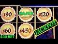 High Limit - Dragon Link Slot Machine $30 Bet ✪HANDPAY JACKPOT✪ |Dragon Link Golden Century HUGE WIN