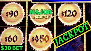 High Limit - Dragon Link Slot Machine $30 Bet ✪HANDPAY JACKPOT✪ |Dragon Link Golden Century HUGE WIN