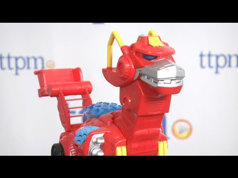 NEW Playskool Heroes Transformers Rescue Bots Heatwave The Rescue Dinobot