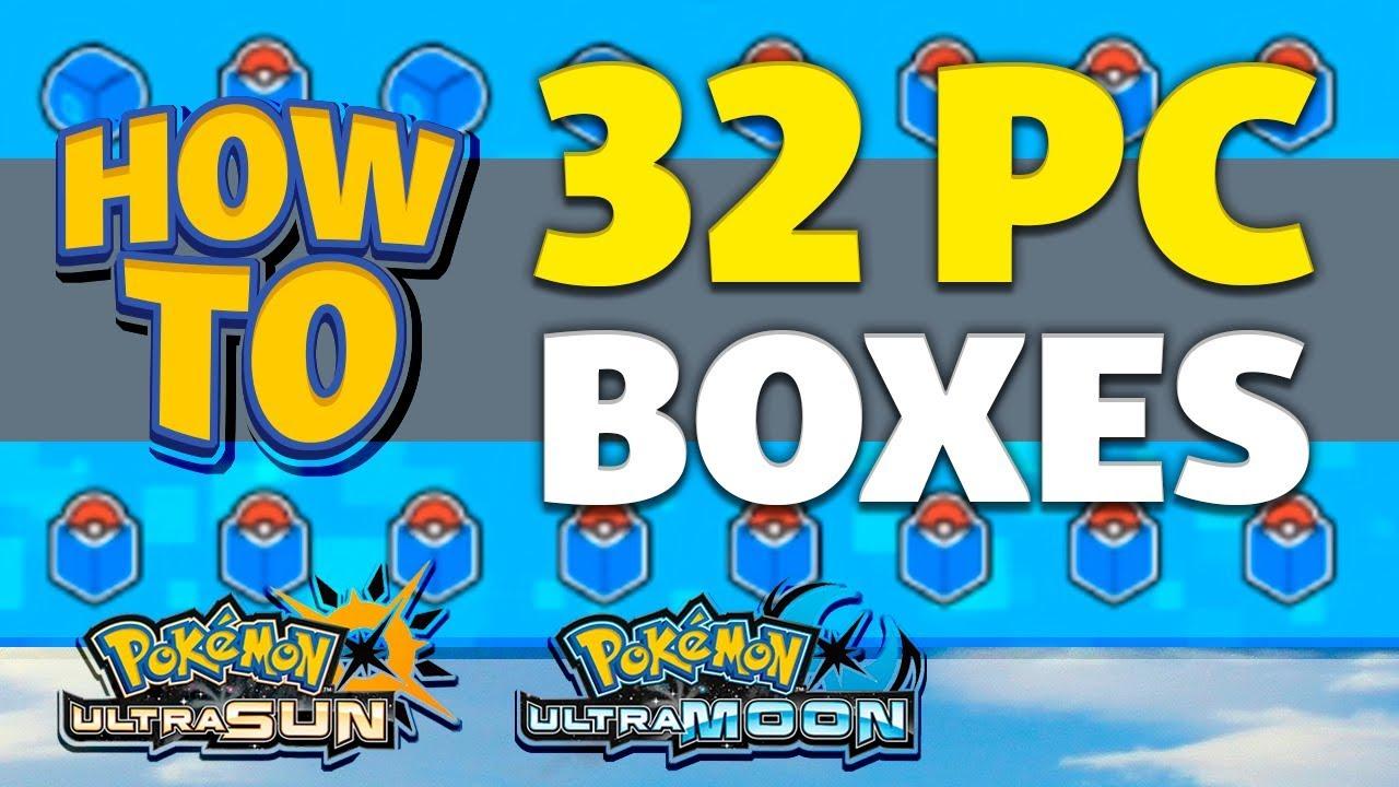 Sun and Moon Maximum Pc Boxes? - Pokemon Sun …