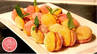 Italian Peach Cookies, Pesche Dolci - Печенье Персики