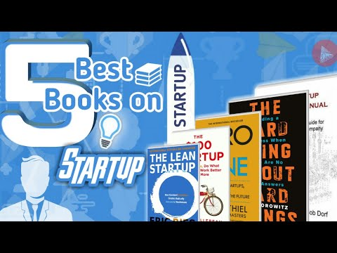 """5 Best Books On """"Startup"""" 