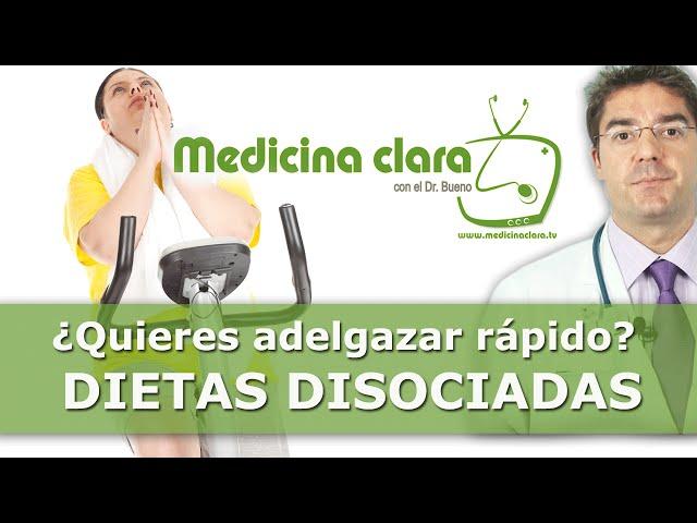 Videos recetas dieta disociadas