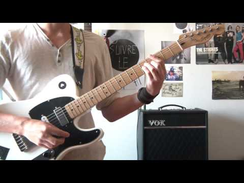 Billy Talent - Fallen Leaves - guitar cover HD