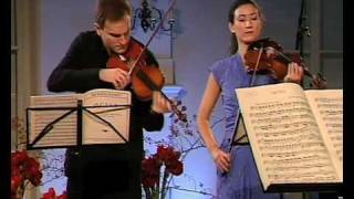 Mendelssohn String Octet - mov. 1 part 1 (with double bass!)