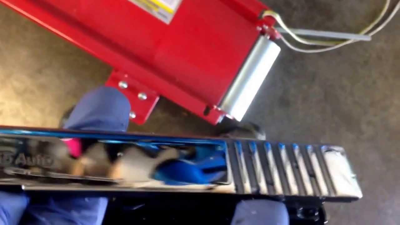 Slide Polishing Mirror Gun Ryan Burick