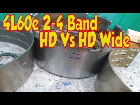 4L60e 2-4 Band. Regular vs HD Wide Kevlar Band. 700r4 4L65E too!