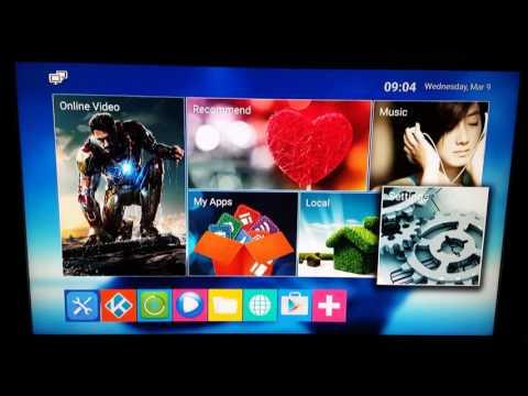 Beelink Mini MX Android TV Box Setup And Interface