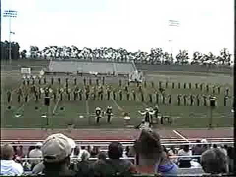 Cabrillo HS Marching Band 2003 Fieldshow