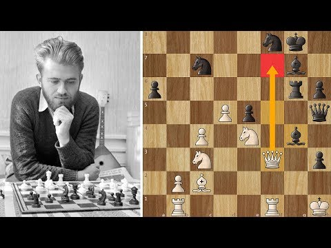 Larsen's Brilliant Attack proves Deadly after a Draw is Refused