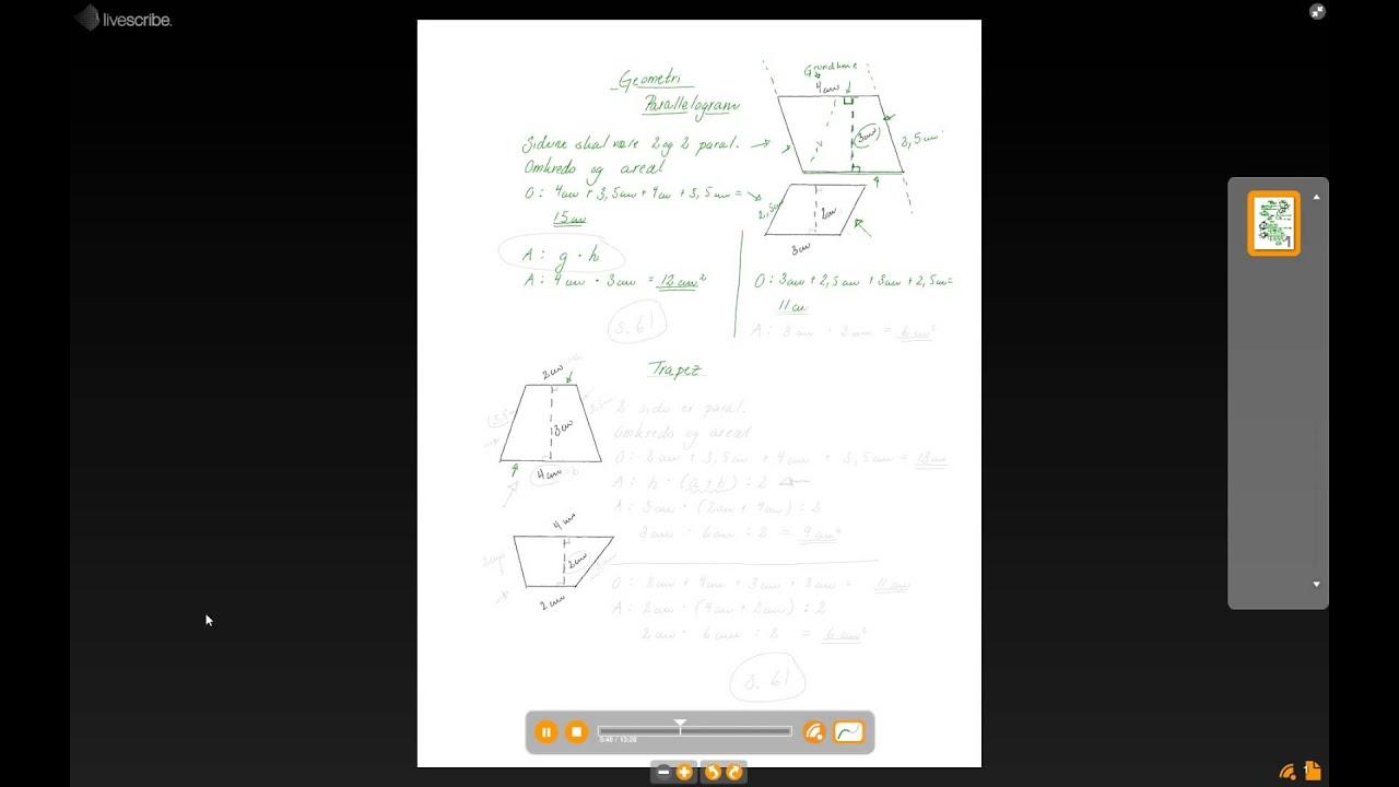 Trapez og parallelogram