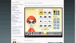 Mario Kart Wii-How to make Custom Mii Names