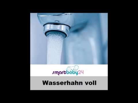 Wasserhahn voll aufgedreht - wasserhahn geräusch - faucet sound - einschlafhilfe für baby
