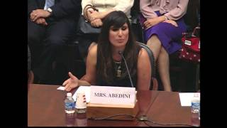 Naghmeh Abedini Testimony in House Foreign Affairs Committee:  June 2, 2015