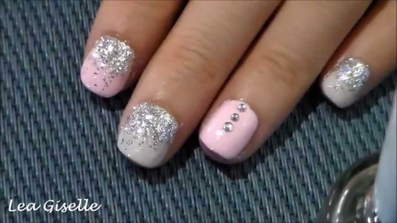 Nail art tutorial for really short nails youtube prinsesfo Images