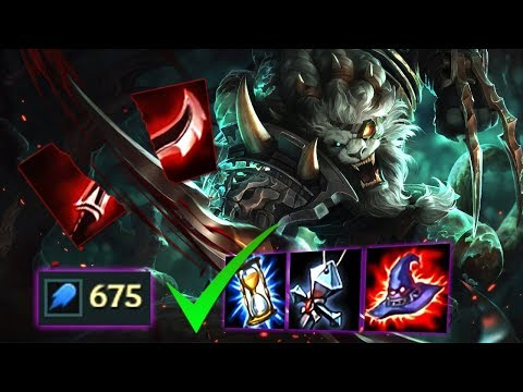 SPONTANEOUS AP CDR RENGAR TOP TO COMPLIMENT MY FULL AD TEAM [ TEAMWORK OP 💯😂👊 ]