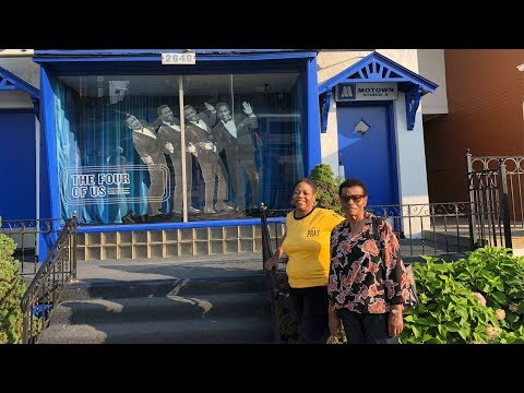 OUR VISIT TO  THE MOTOWN MUSEUM!!!