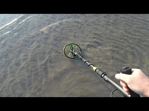 Metal Detecting Camber Sands Beach With The Minelab Excalibur 2
