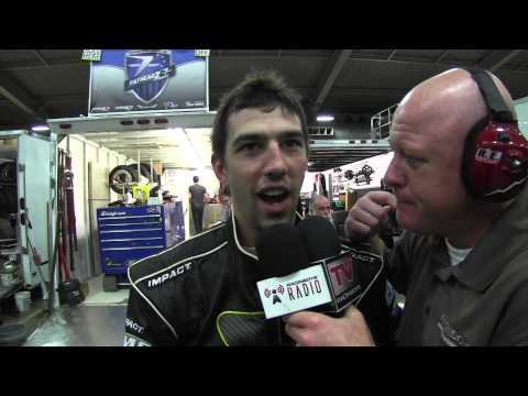 RacinBoys TV - Interview with Chase Barber at Lucas Oil Chili Bowl Nationals