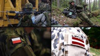 Four NATO battalions deploying to Estonia, Latvia, Lithuania and Poland 🇪🇪🇱🇻🇱🇹🇵🇱