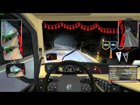 Long Road to Ruin - ETS 2 Gameplay