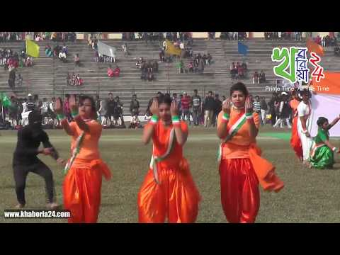 69th Republic Day Program 2018 from Cooch Behar Rajbari Stadium