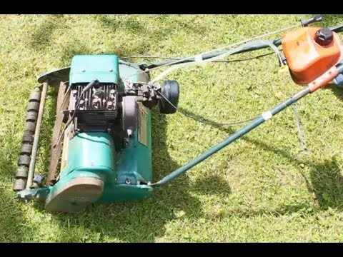 Qualcast Suffolk Punch 43s Cylinder Mower Youtube