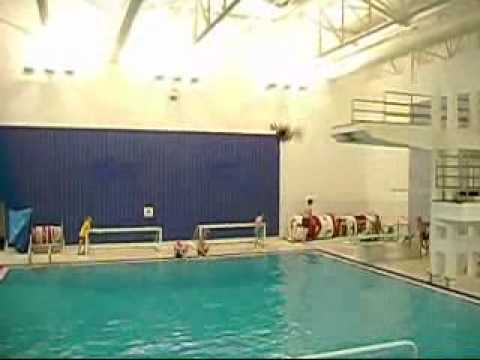 Jonah Mayfield - Double Gainers at Pittville Swimming Pool