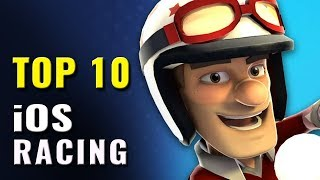 Top 10 Best iOS Racing Games of All Time